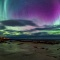 Color sky over Nordland